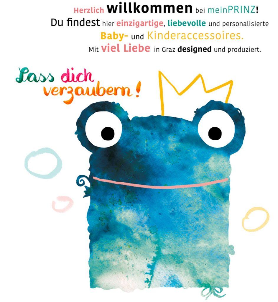 Herzlich willkommen bei meinPRINZ! Du findest hier einzigartige, liebevolle und personalisierte Baby- und Kinderaccessoires. Mit viel Liebe in Graz designed und produziert.
